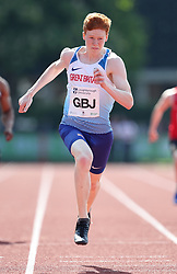 Charlie Dobson in the 200m during the Loughborough International Athletics Meeting at the Paula Radcliffe Stadium, Loughborough. PRESS ASSOCIATION Photo. Picture date: Sunday May 20, 2018. See PA story ATHLETICS Loughborough. Photo credit should read: David Davies/PA Wire.