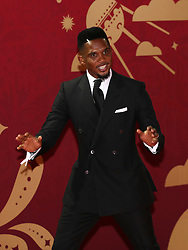 Samuel Eto'o during the FIFA 2018 World Cup draw at The Kremlin, Moscow. PRESS ASSOCIATION Photo Picture date: Friday December 1, 2017. See PA story SOCCER World Cup. Photo credit should read: Nick Potts/PA Wire. RESTICTIONS: Editorial use only. No transmission of sound or moving images. No use with any unofficial third party logos. No altering or adjusting of photographs.