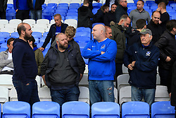1st October 2017 - Premier League - Everton v Burnley - Everton fans struggle to digest what they've just watched - Photo: Simon Stacpoole / Offside.