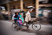 Bicycle Rickshaw - Old Delhi, India