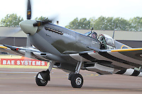 Vickers Supermarine Spitfire LF IX Royal International Air Tattoo 2010 RAF Fairford, UK, 16 July 2010: For piQtured Sales contact: Ian@Piqtured.com +44(0)791 626 2580 (Picture by Richard Goldschmidt/Piqtured)