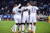 Joie Marseille - 07.12.2014 - Marseille / Metz - 17eme journee de Ligue 1 -<br />Photo : Gaston Petrelli / Icon Sport