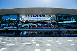 January 14, 2019 - Melbourne, VIC, U.S. - MELBOURNE, VIC - JANUARY 13:  new addition to the Rod Laver Arena for the 2019 Australian Open on January 13, 2019 at Melbourne Park Tennis Centre Melbourne, Australia (Photo by Chaz Niell/Icon Sportswire) (Credit Image: © Chaz Niell/Icon SMI via ZUMA Press)