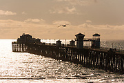 Sunset Over The Oceanside Pier