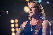 """Florida Georgia Line (Tyler Hubbard and Brian Kelly)  photographed at the iHeartRadio Theater in New York City on October 14, 2014 for the release of their sophomore album, """"Anything Goes."""""""