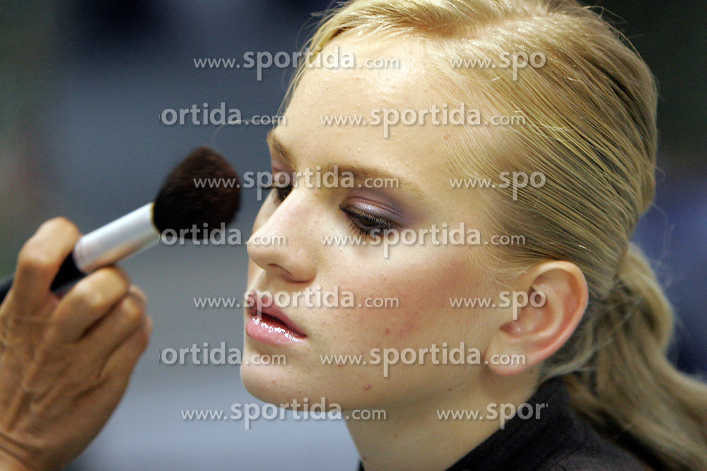 Woman at rouge. (Photo by Vid Ponikvar / Sportal Images)