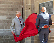 De Prins van Wales bezoekt de St. Eusebiuskerk in Arnhem. De Prins van Wales onthult buiten een plaquette<br /> de ingang om de voltooiing van de recente torenrestauratiewerken te markeren<br /> <br /> The Prince of Wales will visit St. Eusebius Church in Arnhem. The Prince of Wales will unveil a plaque outside<br /> the entrance to mark the completion of the recent tower restoration works'