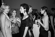 EMILY SKJELBRED, KIERA O'BRIEN AND OLIVIA SMITH, Wallpaper Design Awards. Old Post Sorting Office. New Oxford St. London. 9 January 2008. -DO NOT ARCHIVE-© Copyright Photograph by Dafydd Jones. 248 Clapham Rd. London SW9 0PZ. Tel 0207 820 0771. www.dafjones.com.