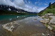 Waterfowl Lake and Mount Chephren, Banff National Park, Canada