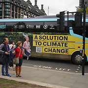 London Demo: indigenous leaders from Latin America, Indonesia and Africa as they arrive in London on 24 October, on their journey to the COP23 UN Climate Change Conference in Bonn. Protest at the Parliament Square, Guardians of the Forest's calls for an end to violence, criminalization and murder; climate finance; recognition of their rights to territory and consent; and a voice in climate change strategies.