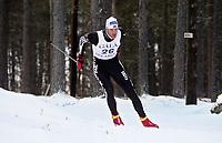 Langrenn - Gålåsprinten - Trond Iversen fra Mjøndalen. 2. deseber 2001.  (Foto: Andreas Fadum, Digitalsport)