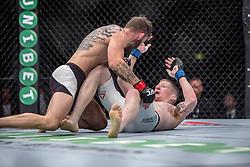 Robert Whiteford (SCO, beard) beat Paul Redmond (IRE). UFC Glasgow on Saturday, July 18 at The Hydro.