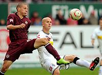 v.r. Michael Bradley, Jiri Bilek (Kaiserslautern)<br /> Bundesliga, 1. FC Kaiserslautern - Borussia Mönchengladbach<br /> <br /> Norway only