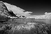 Shoreline in bay of he Saguenay River<br />Parc national du Fjord-du-Saguenay<br />Quebec<br />Canada