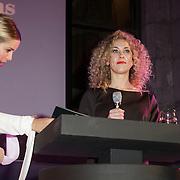 NLD/Amsterdam/20150119 - De Marie Claire Prix de la Mode awards, Hanna Verboom en Claudia Straatmans