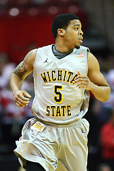 22 February 2012:  Demetric Williams during an NCAA Missouri Valley Conference mens basketball game between the Wichita State Shockers and the Illinois State Redbirds in Redbird Arena, Normal IL