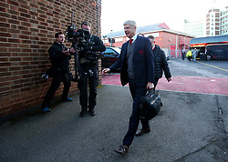 Arsenal manager Arsene Wenger arrives at The City Ground ahead of the FA Cup Third Round tie with Nottingham Forest - Mandatory by-line: Robbie Stephenson/JMP - 07/01/2018 - FOOTBALL - The City Ground - Nottingham, England - Nottingham Forest v Arsenal - Emirates FA Cup third round proper