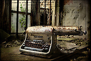 Old typewriter in abandoned building. How I did it: http://www.vivecakohphotography.co.uk/2010/07/02/2103/