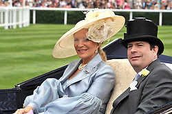 PRINCESS MICHAEL OF KENT at the 3rd day of Royal Ascot 2009 on 18th June 2009.