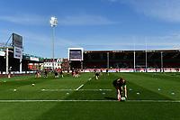 Rugby Union - 2020 / 2020 Allianz 15s Womens Cup - Final - Saracens vs Harlequins - Kingsholm<br /> <br /> A general view of Kingsholm, venue for the Allianz 15s Womens Cup Final.<br /> <br /> COLORSPORT/ASHLEY WESTERN