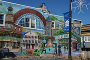 Historic Quakertown mural, Quakertown, Bucks Co. PA