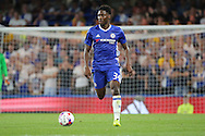 Chelsea defender Ola Aina (34) dribbling during the EFL Cup match between Chelsea and Bristol Rovers at Stamford Bridge, London, England on 23 August 2016. Photo by Matthew Redman.