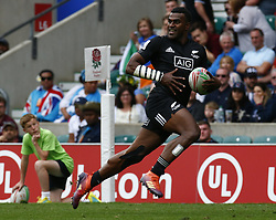 May 26, 2019 - Twickenham, England, United Kingdom - Joe Ravouvou ofNew Zealand .during The HSBC World Rugby Sevens Series 2019 London 7s 5th Place Play-Off Match 43 between New Zealand and Ireland at Twickenham on 26 May 2019. (Credit Image: © Action Foto Sport/NurPhoto via ZUMA Press)