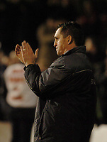 Photo. Leigh Quinnell, Digitalsport<br />   Brentford v Southampton FA cup. 01/03/2005. Brentford boss Martin allen claps off his players