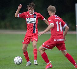 Mathias Christensen (FC Helsingør) under kampen i Sydbank Pokalen, 1. runde, mellem Bispebjerg Boldklub og FC Helsingør den 2. september 2020 i Lersø Parken (Foto: Claus Birch).