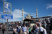 Views of the Süleymaniye Mosque in Istanbul which was built on the order of Sultan Süleyman and finished in 1558...Istanbul 7 June 2012