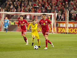 STYLEPREPENDAaron Long (33) of Red Bulls controls ball during 2nd leg MLS Cup Eastern Conference semifinal game against Columbus Crew SC at Red Bul Arena Red Bulls won 3 - 0 agregate 3 - 1 and progessed to final (Credit Image: © Lev Radin/Pacific Press via ZUMA Wire)
