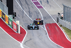 October 21, 2017 - Austin, Texas, U.S - Valtteri Bottas (77) of Finland in action during the final practice before the Formula 1 United States Grand Prix race at the Circuit of the Americas race track in Austin,Texas. (Credit Image: © Dan Wozniak via ZUMA Wire)