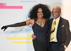 November 19, 2017 - Los Angeles, California, U.S - (L-R) Diana Ross and Berry Gordy pose in the Press Room of the 2017 American Music Awards held on Sunday, November 19, 2017 at the Microsoft Theatre in Los Angeles, California. (Credit Image: © Prensa Internacional via ZUMA Wire)