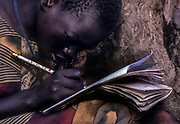 A girl traumatized and orphaned by the Lords Resistance Army in northern Uganda.