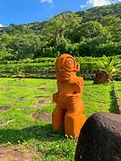 Taipivai Valley, Nuku Hiva, Marquesas; French Polynesia; South Pacific