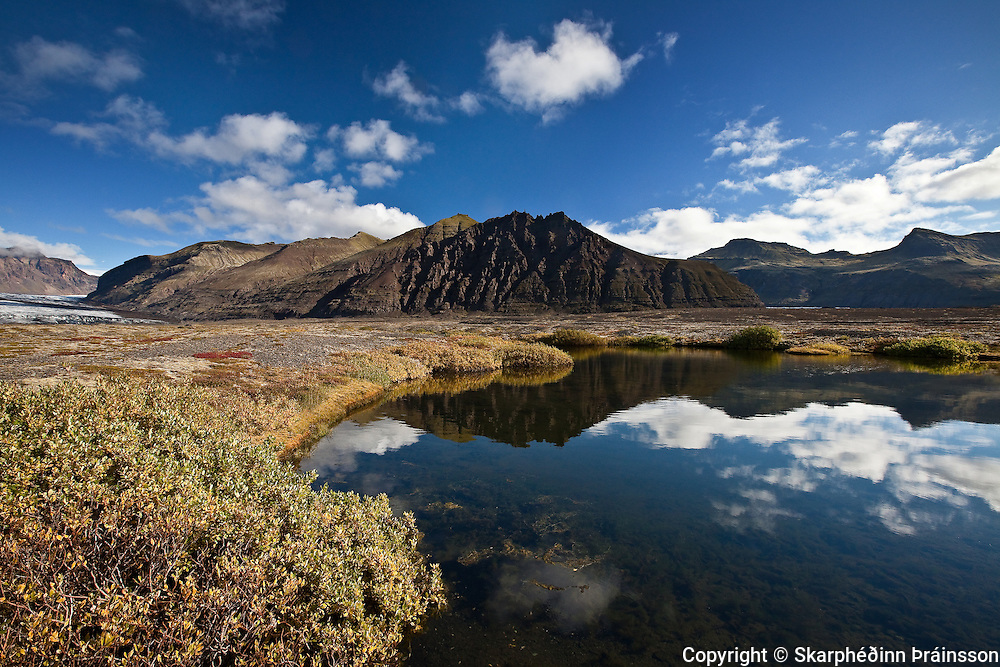 Skaftafell National Park, south Iceland