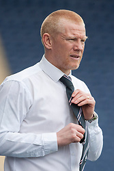 Falkirk's manager Gary Holt.<br /> Falkirk 5 v 0 Cowdenbeath, Scottish Championship game played today at The Falkirk Stadium.<br /> © Michael Schofield.