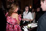 HEATHER KERZNER; MARIE HELVIN, Dinner to mark 50 years with Vogue for David Bailey, hosted by Alexandra Shulman. Claridge's. London. 11 May 2010