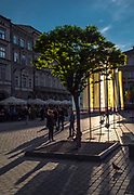 Rynek Główny nocą w Krakowie, Polska<br /> Main Market Square by night, Poland