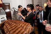 ANASTASIA WEBSTER; NANCY DELL D'OLIO;, Georgina Chapman and Stephen Webster celebrate her guest designer collection for Garrard. Albermarle St. London. 4 November 2009