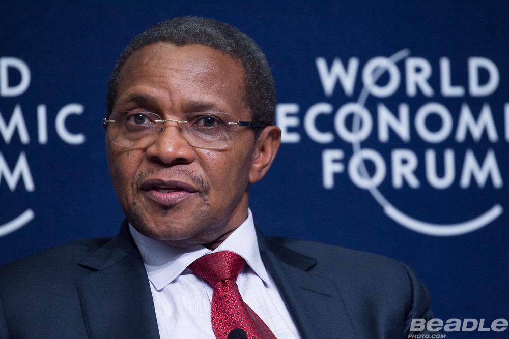 Jakaya M. Kikwete, President of Tanzania (2005-2015)<br /> Office of the President of Tanzania at the World Economic Forum on Africa 2017 in Durban, South Africa. Copyright by World Economic Forum / Greg Beadle