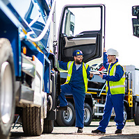 26/07/18 Blackburn- Thompsons - Truck Shoot for EVAR Product TATA Steel