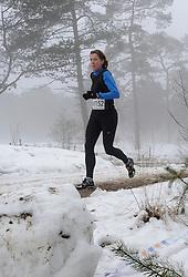 31-12-2010 Atletiek: Silvestercross: Soest<br /> Laatste dag van het jaar de Sylvestercross / Lopen door mist, sneeuw en  hard zand illustratief creative<br /> ©2011-WWW.FOTOHOOGENDOORN.NL