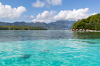 Seychelles, Sunny and Blue, Water