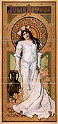 Title Julia Arthur 1869-1950 American Theatre actress shown as Juliet c1899. (poster)  lithograph