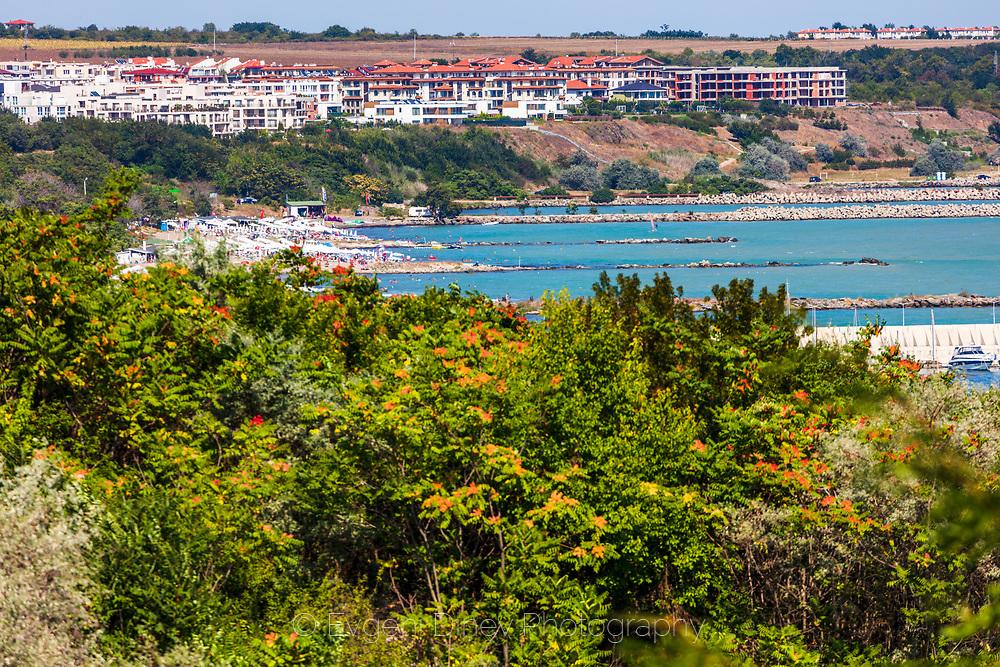 Sarafovo beach at summer time