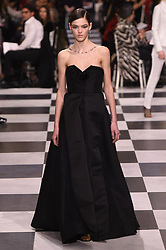 Paris-A model, walks the runway at the Christian Dior Show during Paris Fashion Week- Haute Couture Spring /Summer 2018. 22 Jan 2018 Pictured: Christian Dior. Photo credit: Newspictures/ MEGA TheMegaAgency.com +1 888 505 6342