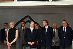 May 26, 2019 - Monte Carlo, Monaco - xa9; Photo4 / LaPresse.26/05/2019 Monte Carlo, Monaco.Sport .Grand Prix Formula One Monaco 2019.In the pic: S.A.S La Princesse Charlene De Monaco, S.A.S. Prince Albert II (Credit Image: © Photo4/Lapresse via ZUMA Press)