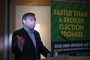 20/1/16  Paddy Power at the launch of Noel Whelan's book, The Tallyman's Campaign Handbook at the Alexander Hotel in Dublin. Picture: Arthur Carron