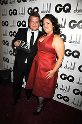JAMES CORDEN and RUTH JONES at the GQ Men of the Year Awards held at the Royal Opera House, London on 2nd September 2008.<br /> <br /> NON EXCLUSIVE - WORLD RIGHTS